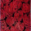 Roses with Silk Rug