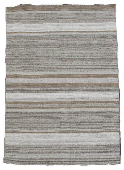 Beige/Grey Stripe kelim
