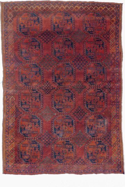 Antique Afghan Ersari Rug