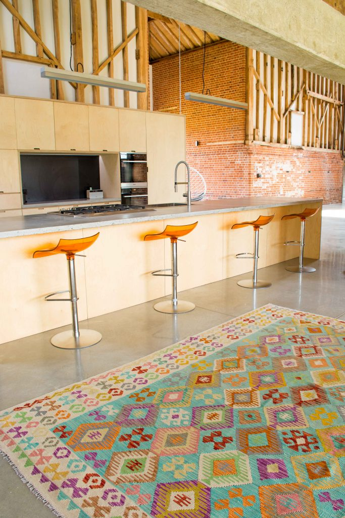 Kelim rug Kitchen