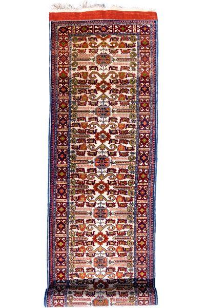 Afghan Silk Runner Rug