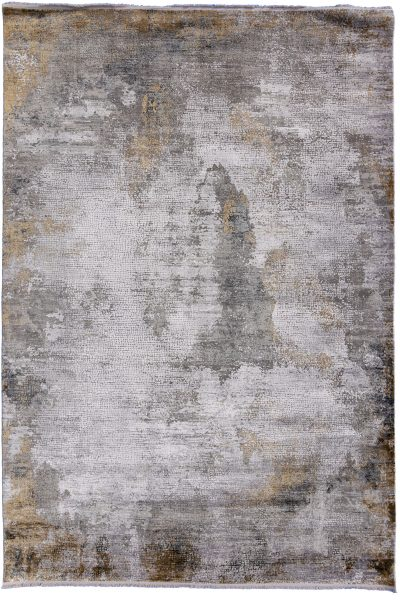 Torus Illusion Grey Rug