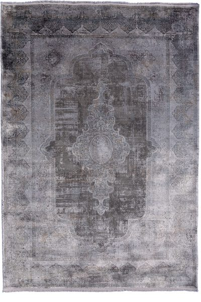 Torus Overdyed Grey Rug
