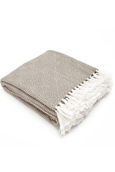 Weaver Green Blanket - Diamond Monsoon