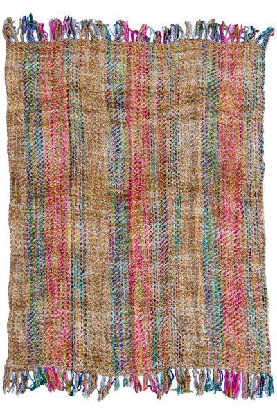 Soft Woven Multicolour Throw
