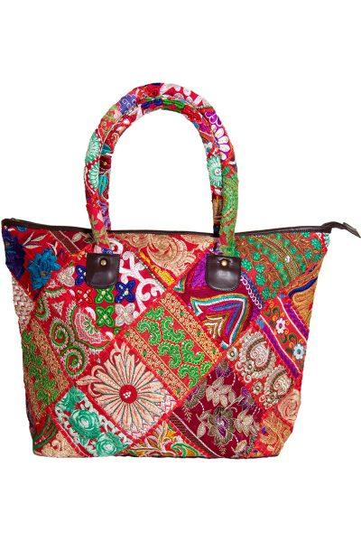 Ornate Patchwork Handbag