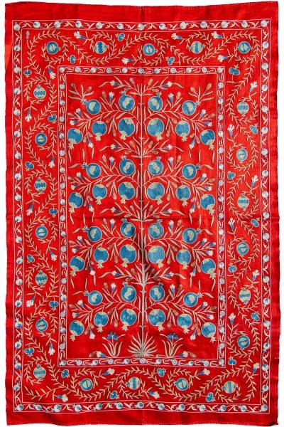 Uzbek-Suzanni-Throw