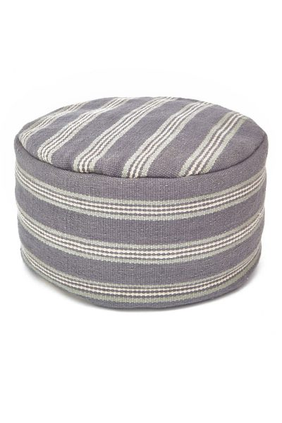 henley-stripe-clay Pouffe
