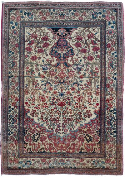 Kashan Prayer Rug
