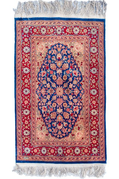 Old Silk Hereke Rug