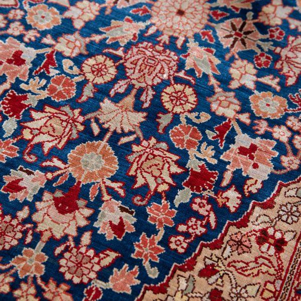 Old Silk Hereke Rug