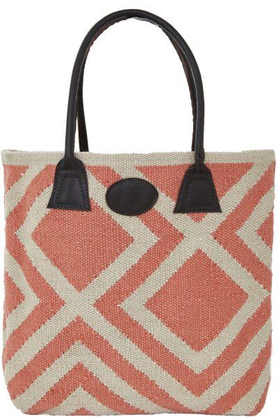 Iris-Coral-Bag