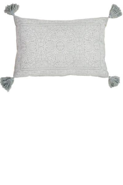 Kas Dove Grey Cushion