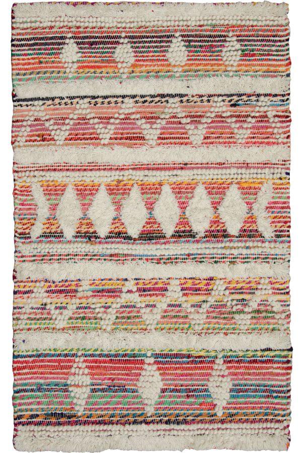 Multi wool rug