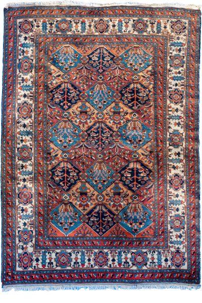 Turkish Rug of Bakhtian Design