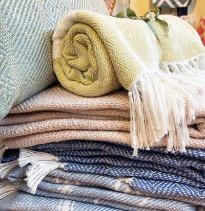 Weaver Green Throws/Blankets