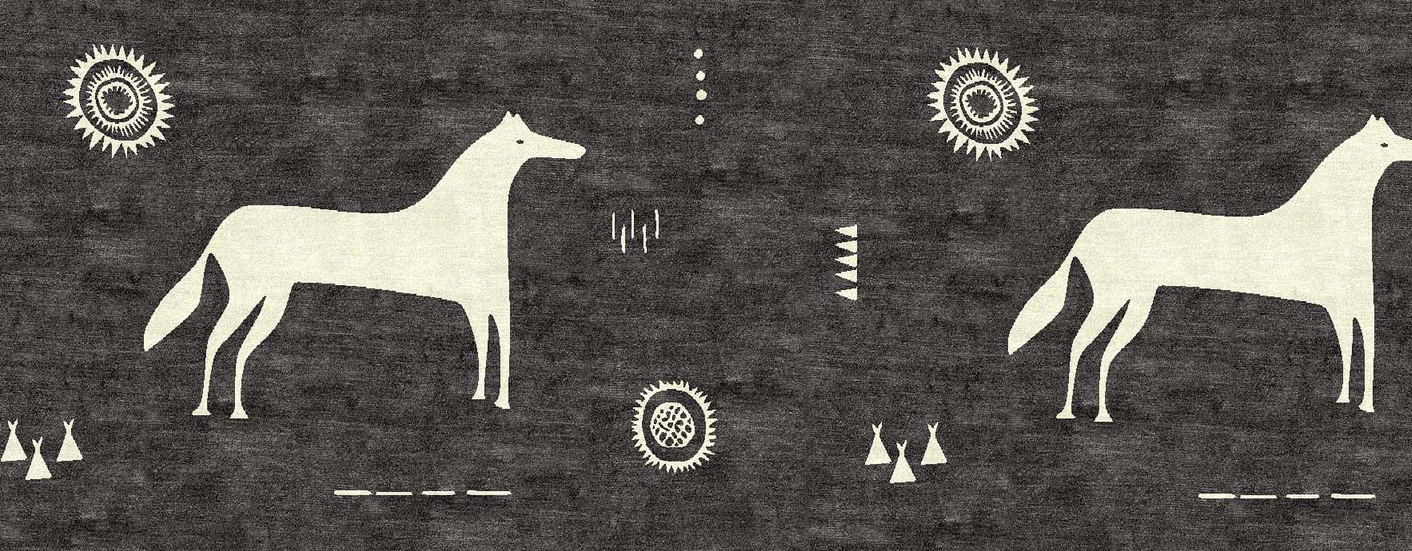 Horse-banner