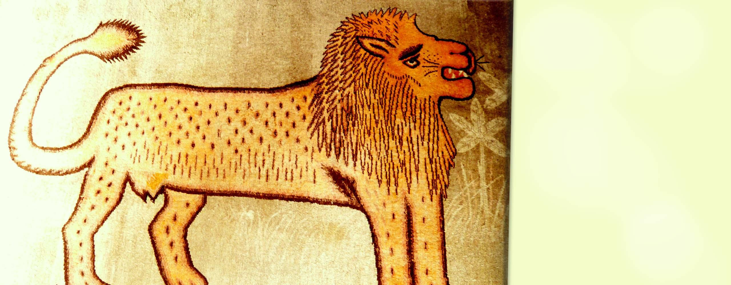 Restore Lion Rug
